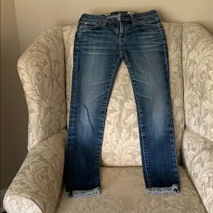 AG cropped jeans